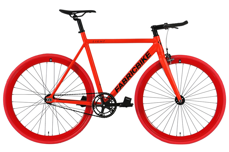Fixie Fiets FabricBike Light Fully Matte Red