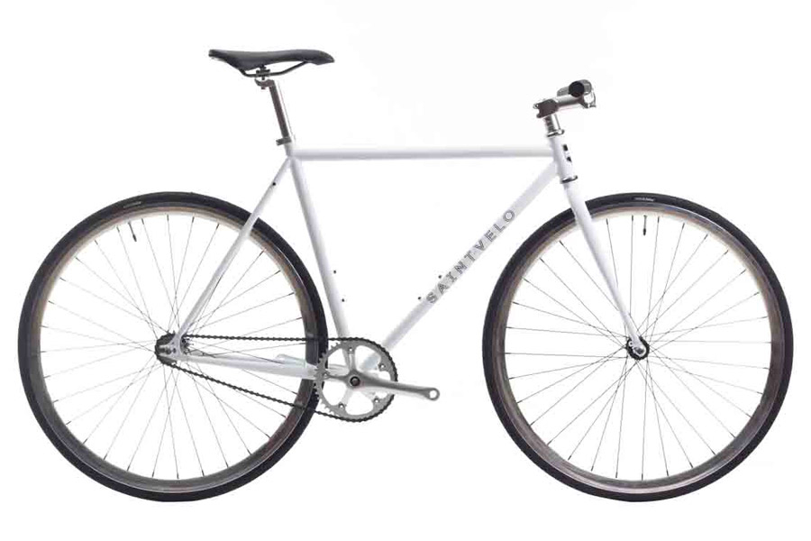 Beretta White Single Speed Fiets