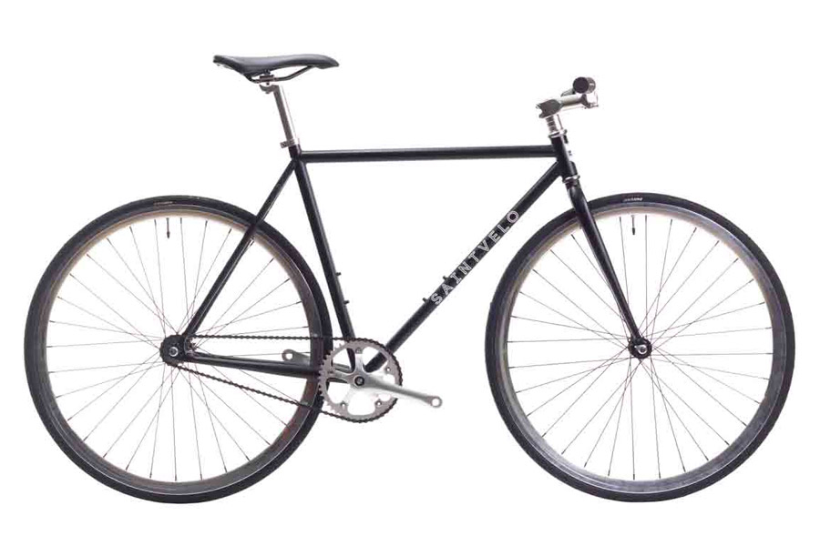 Beretta Black Single Speed Fiets