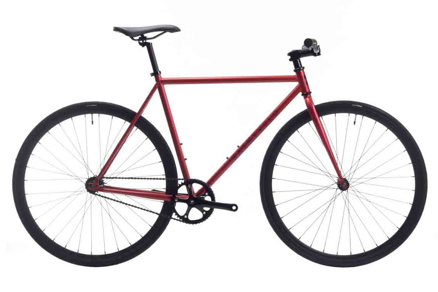 Beretta Red Single Speed Fiets