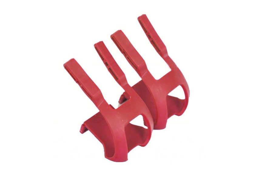 Toe Clips - Rood