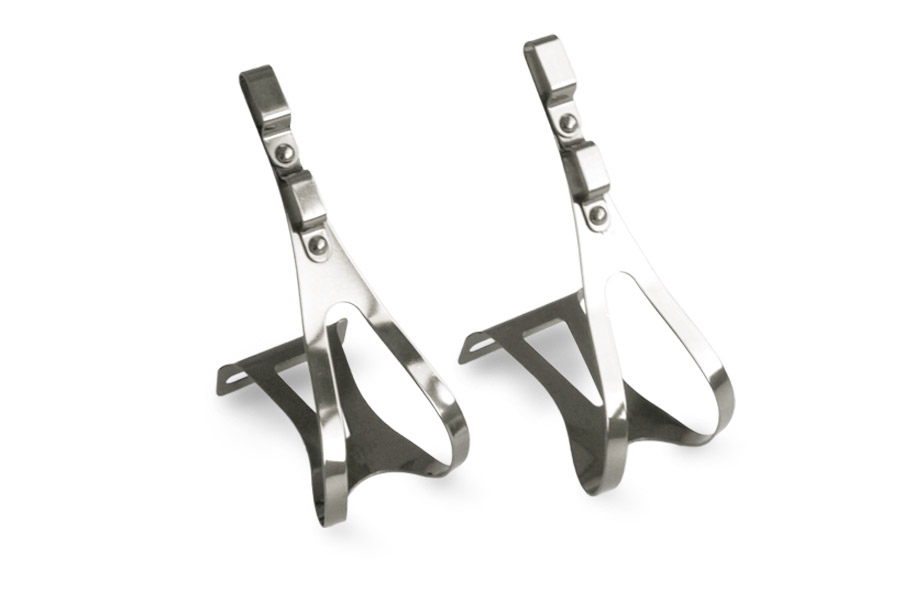 Simple Steel Toe Clips - Zilver