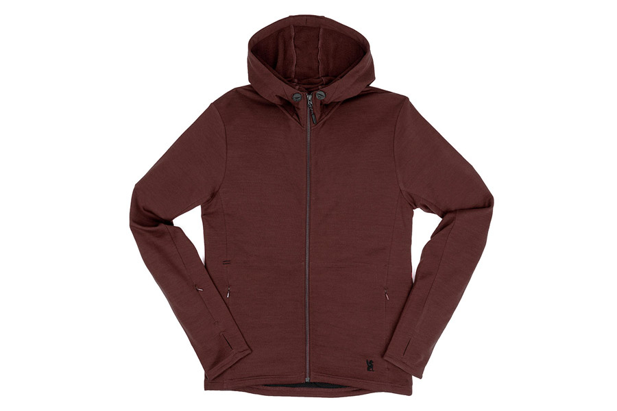 Chrome Industries Merino Wool Cobra Sweatshirt - Rood