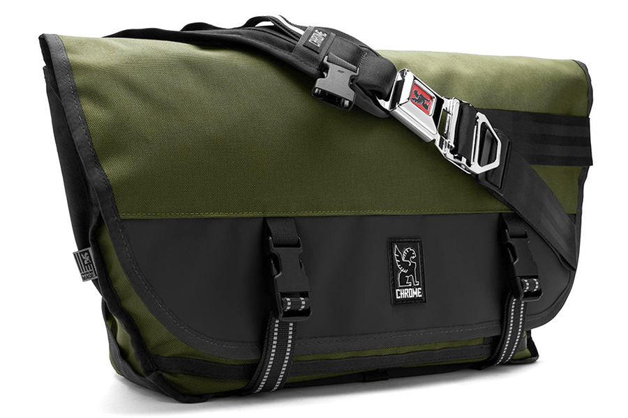 e9fead75e12 Koop Chrome Industries Citizen Koerierstas Groen/Zwart