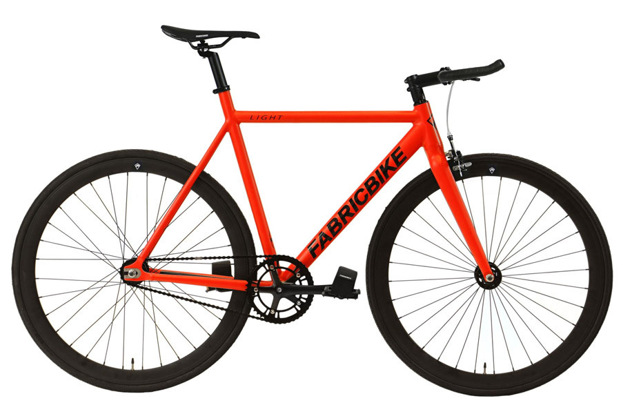 Fixie Fiets FabricBike Light Red