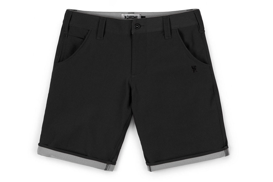 Chrome Industries Natoma Fietsshorts - Black/Castle Rock