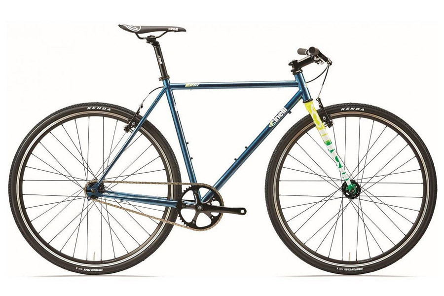 Cinelli Tutto Plus Fixie Fiets - Crystal Blue Persuasion