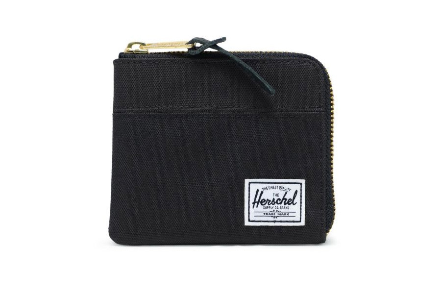 Herschel Johnny Portemonnee - Black