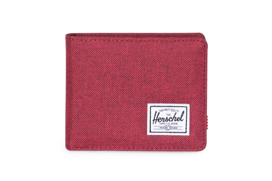 Herschel Roy Plus Coin Portemonnee - Winetasting Crosshatch