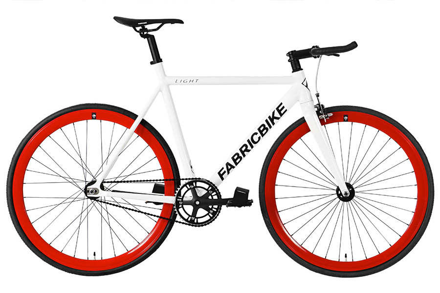 Fixie Fiets FabricBike Light White & Red