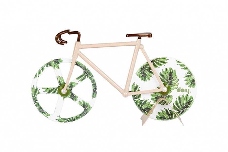 Doiy The Fixie Pizzasnijder - Tropical Vintage