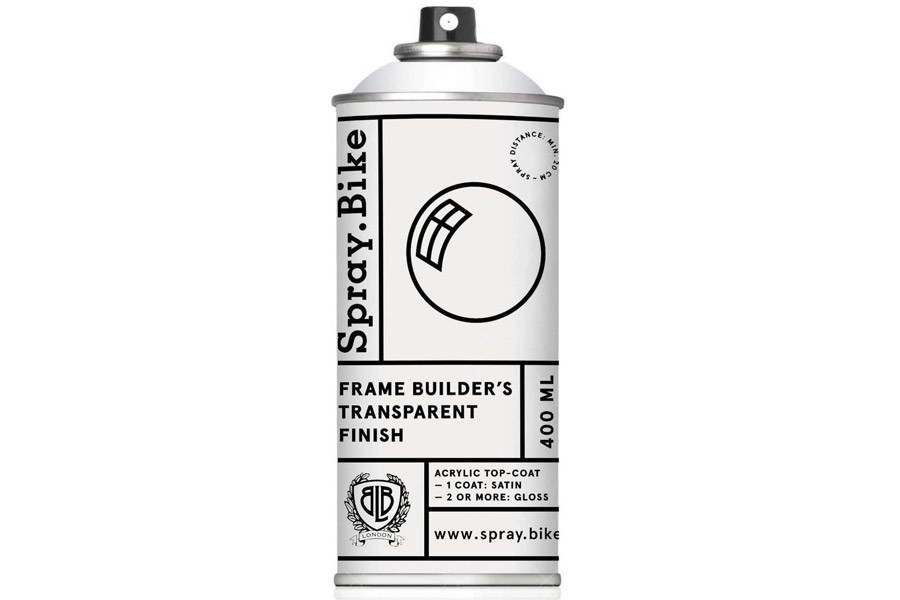 Spray.Bike Transparent Finish Gloss