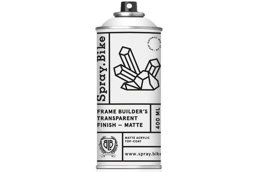 Spray.Bike Transparent Finish Matte