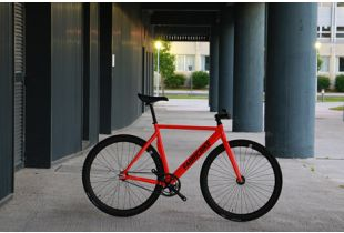 Track Fiets Fabric Air+ Rood