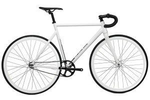 Santafixie Raval Fixie Fiets - All White