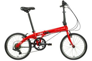 Dahon Vybe D7 Vouwfiets -  Rood