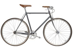 Jitensha Concrete/Alu/Camel Single Speed Fiets