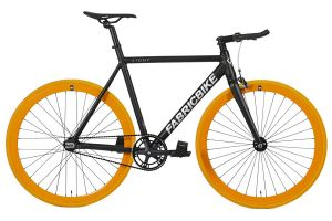 Fixie Fiets FabricBike Light Black & Orange