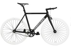 Fixie Fiets FabricBike Light Black & White