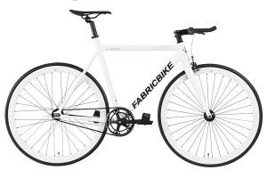 Fixie Fiets FabricBike Light Fully Glossy White