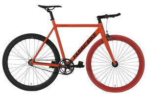 Fixie Fiets FabricBike Light Red & Black 2.0