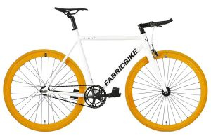 Fixie Fiets FabricBike Light White & Orange