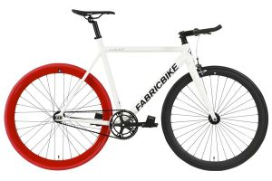 Fixie Fiets FabricBike Light White & Red & Black
