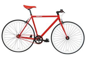 Fixie Fiets FabricBike Rood & Wit