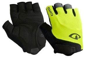 Giro Bravo Gel handschoenen - Black/Highlight Yellow