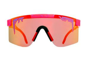 Pit Viper The Radical Polarized Double Wide Bril - Rood