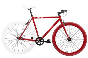 Fixie Fiets FabricBike Red & White 2.0