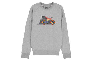 Cikkel The Sword Sweatshirt Grijs