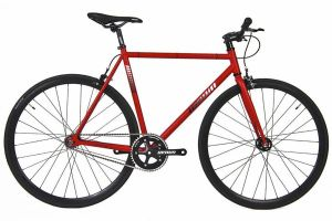 Unknown SC-1 Fixie Fiets - Rood