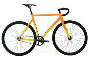 Santafixie Raval Fixie Fiets - Yellow Sunset