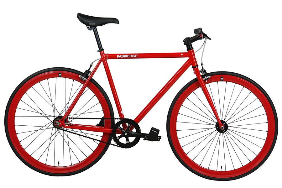 Fixie Fiets FabricBike Fully Glossy Red