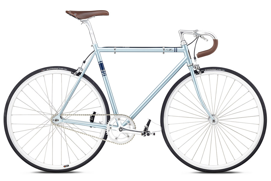 Fixie Fiets Fuji Feather 2018 Ice Blue