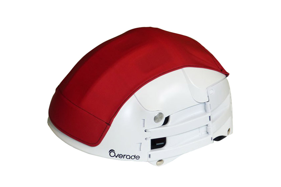 Overade Plixi Helm Cover - Rood