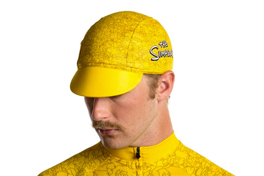 State Bicycle x The Simpsons Springfield Character Wrap Cap