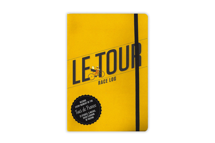 Boek Le Tour: Race Log