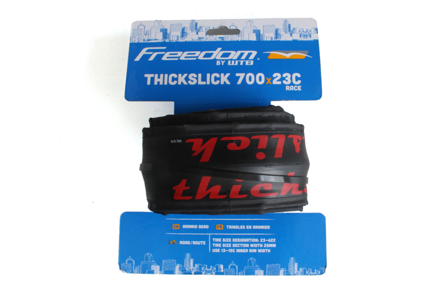 ThickSlick 700c Race Red Tyre - Zwart