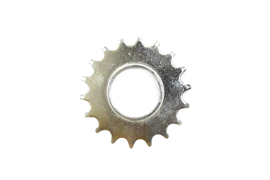 Fixed Tandwiel 18t + Lockring - Aluminium