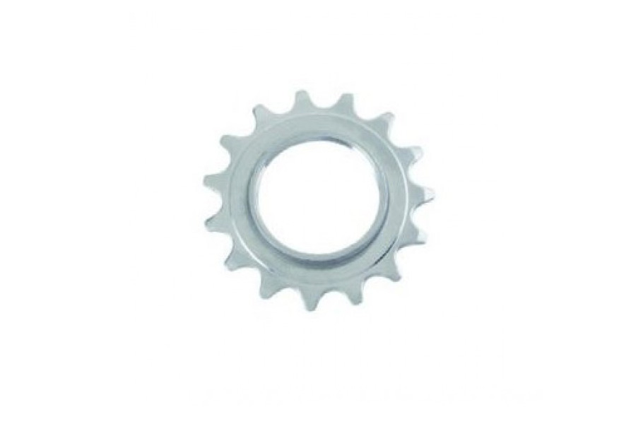 Fixed Tandwiel 15t - Zilver + Lockring