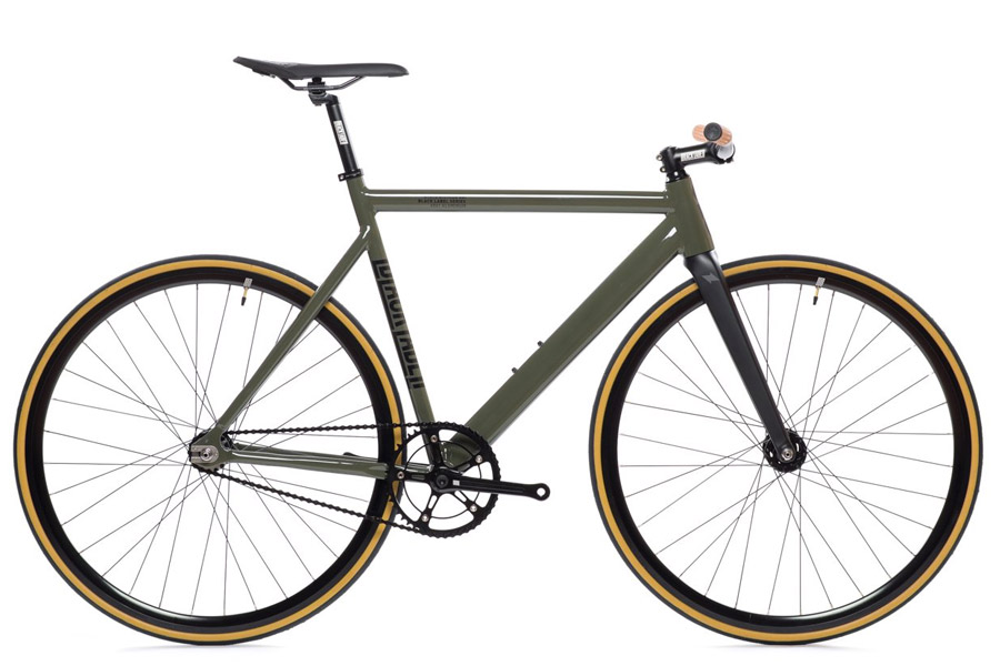 State Premium Black Label V2 Fixie Fiets - Army Green