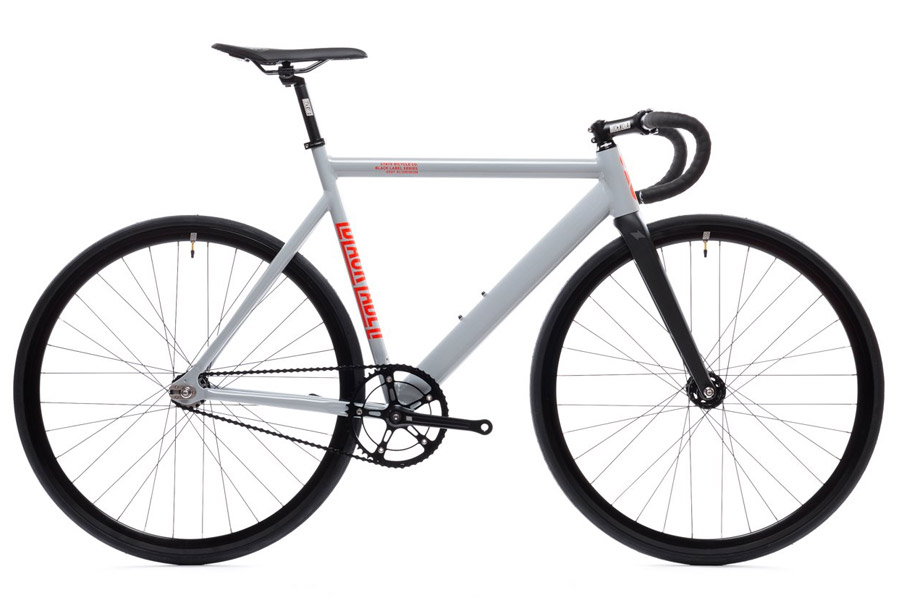 State Premium Black Label V2 Fixie Fiets - Pigeon Grey