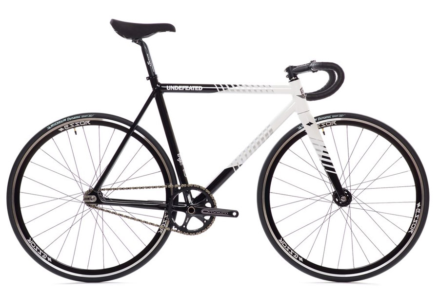 State Undefeated 2 Black & White Edition Track Fiets SF_11175
