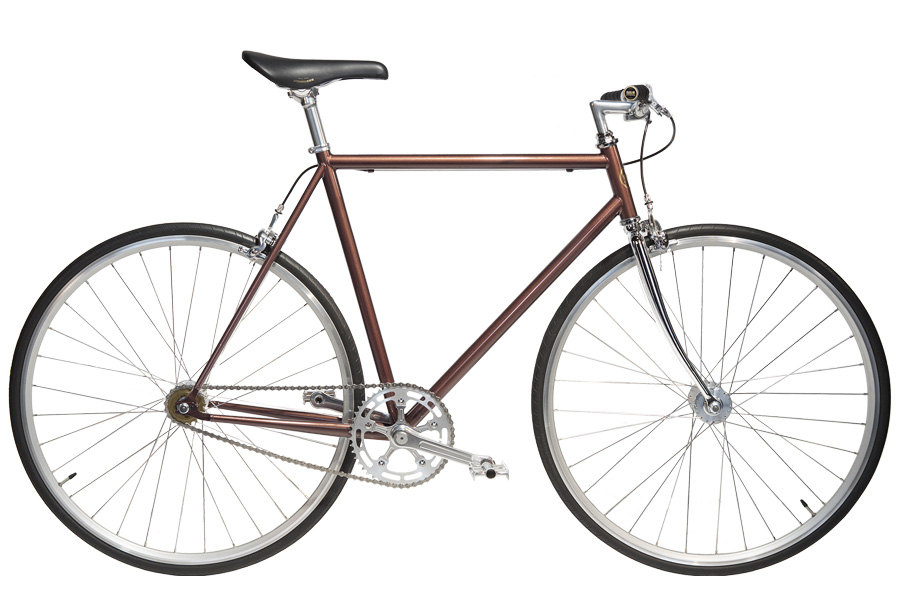 Jitensha Whisky/Alu/Black Single Speed Fiets
