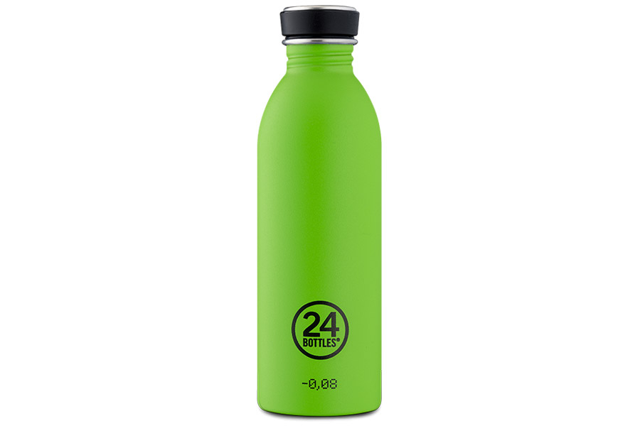 24bottles Urban Fiets Bidon - Lime Green