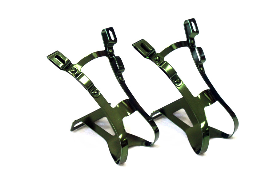 Metalen Toe Clips - Groen