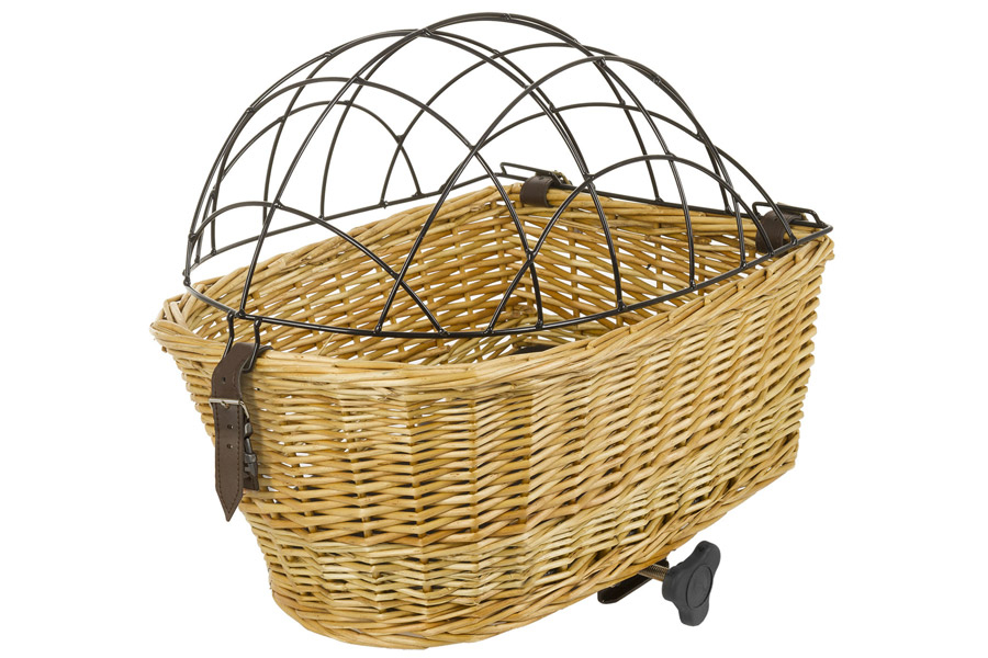 M-Wave Top Wicker Hondenfietsmand Achter - Riet