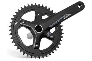 Miche Graff One Crankset 46t 165mm - Zwart